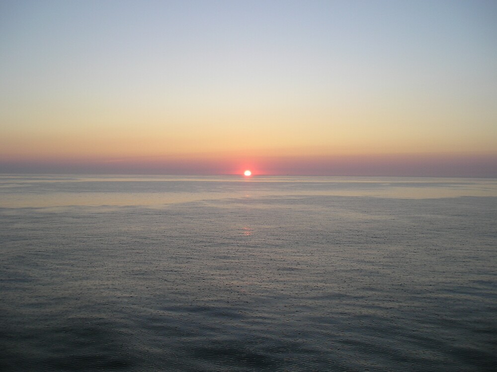 Sinking Sun by Stronsy