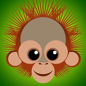 Orangután bebé by tudi