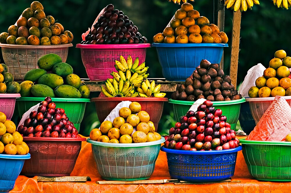 Bali Fruit Stand by Matt Koenig
