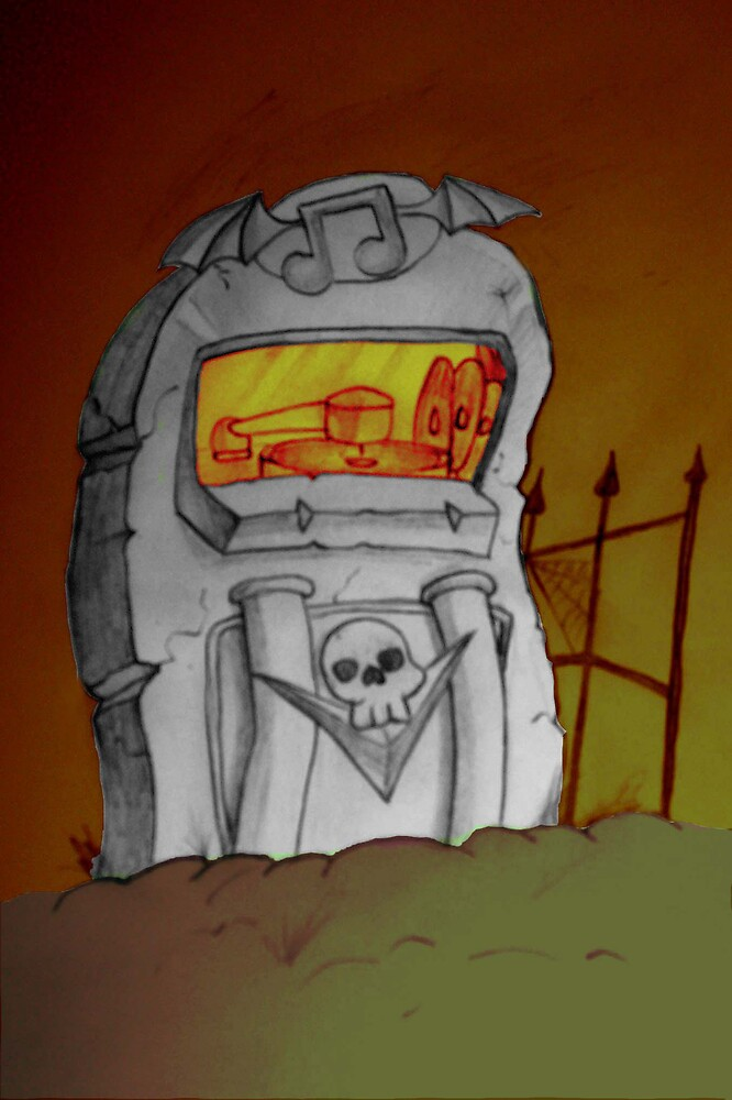 Juke-box Tombstone by Leonardo Torres