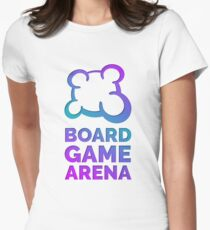 Board Game Arena Womens Fitted T-Shirt