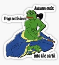 Seppuku no Pepe Sticker