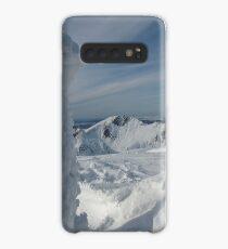 A sideways icicle on Goat fell summit. Case/Skin for Samsung Galaxy