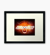 The Big Meep Framed Print