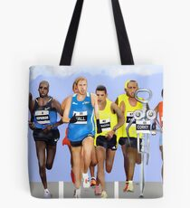 Corky in a Marathon Tote Bag