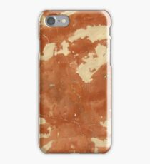 Brown marble texture background. iPhone Case/Skin