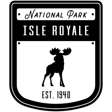 Isle Royale National Park Badge Design by nationalparks