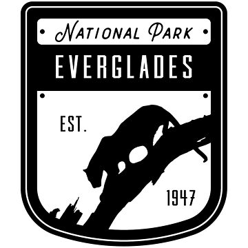 Everglades National Park Badge Design by nationalparks