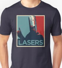 Lord Buckethead Lasers T-Shirt