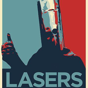 Lord Buckethead Lasers by oakworm