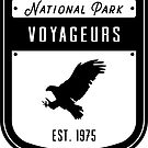 Voyageurs National Park Badge Design by nationalparks