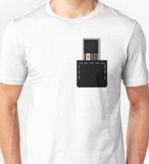 NES Controller in Pocket Unisex T-Shirt