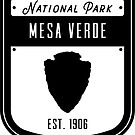 Mesa Verde National Park Badge Design by nationalparks