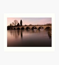 Maidenhead Bridge Art Print