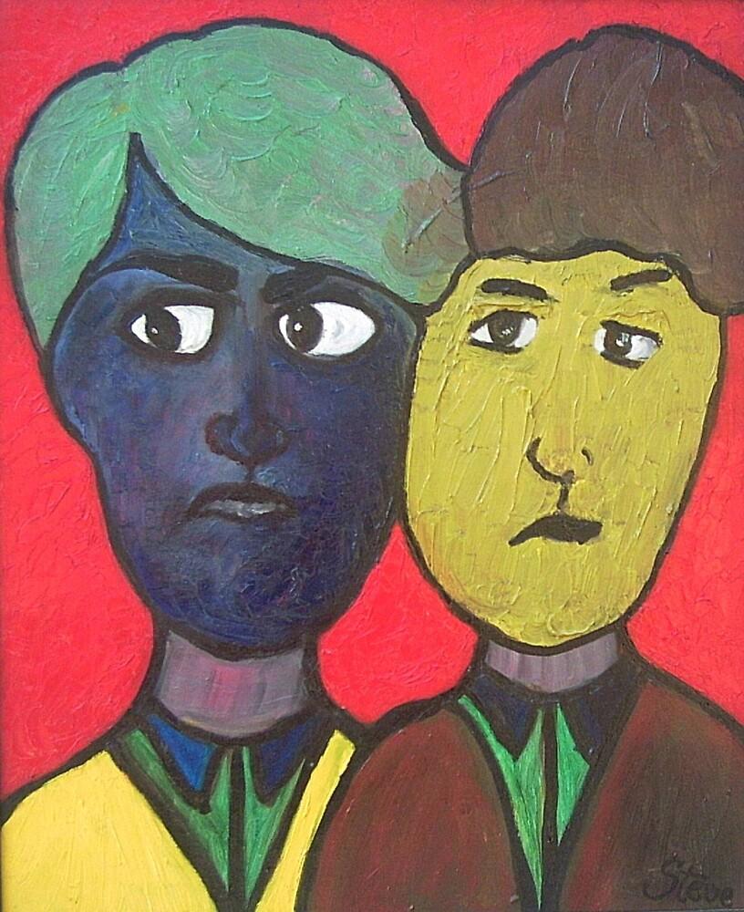 Deux Dames Anglaise by Stephen Stevenson