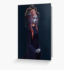 The Demon Bride Greeting Card