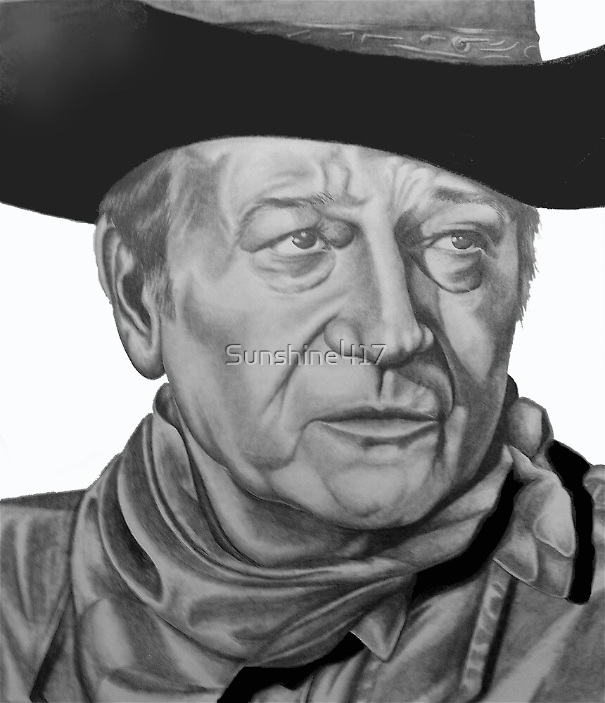 John Wayne by Sunshine417
