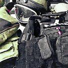 Bomb Squad Uniform by Susan Savad