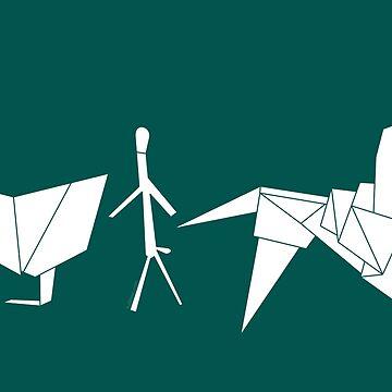 El origami de Gaff by loreleipelaez