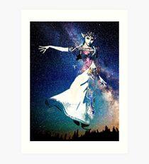 Lámina artística Galaxy Princess Zelda