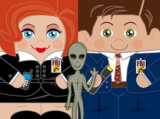 Alien Investigators by herohuggers