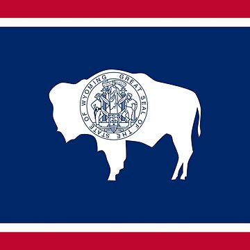 Flag of Wyoming by Countries-Flags