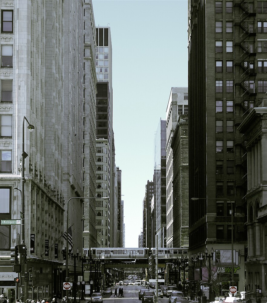 Downtown Chicago by Emily Allison