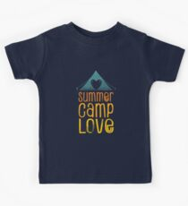 Summer Camp Love Kids Tee