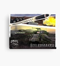 Boilermaker Firefly Canvas Print