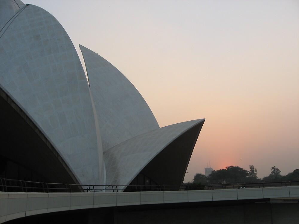 Lotus Temple II - New Delhi, India by Alice Chai