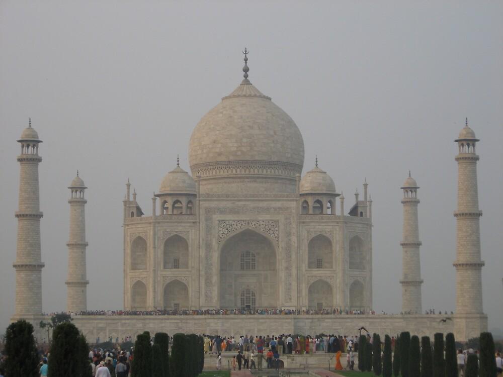 Taj Mahal II - Agra, India by Alice Chai