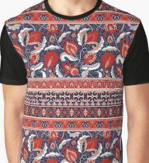 tribal flowers pattern Graphic T-Shirt