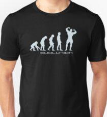 Evolution of Body Building T-Shirt