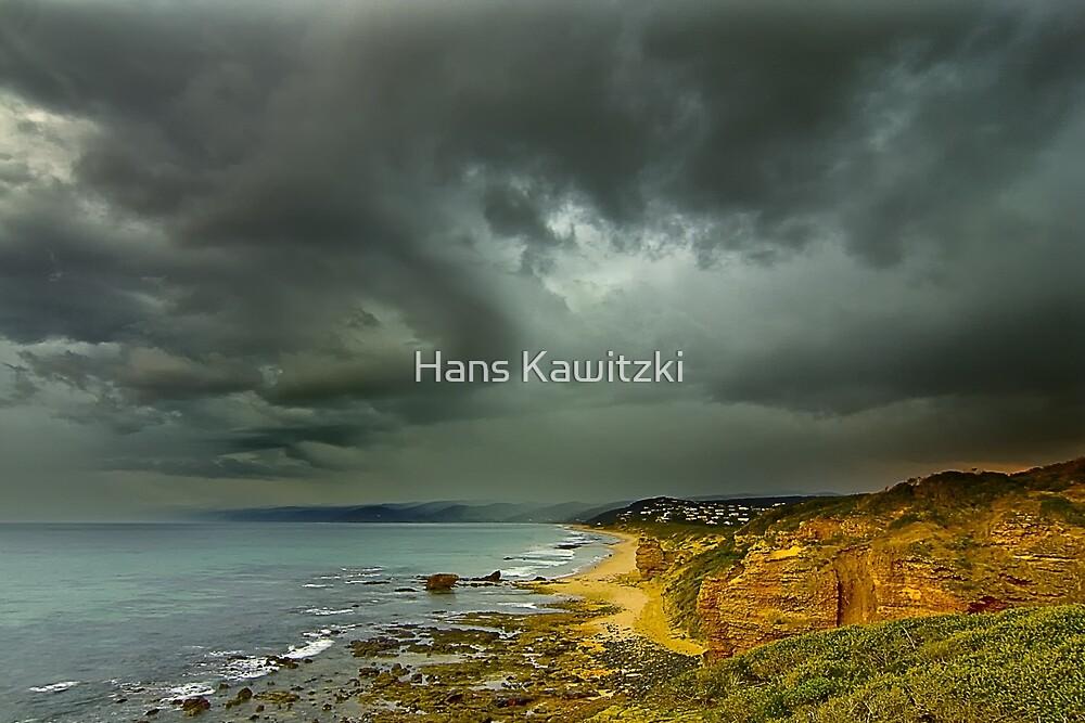 1155 Coastal Storm - Aireys Inlet by Hans Kawitzki