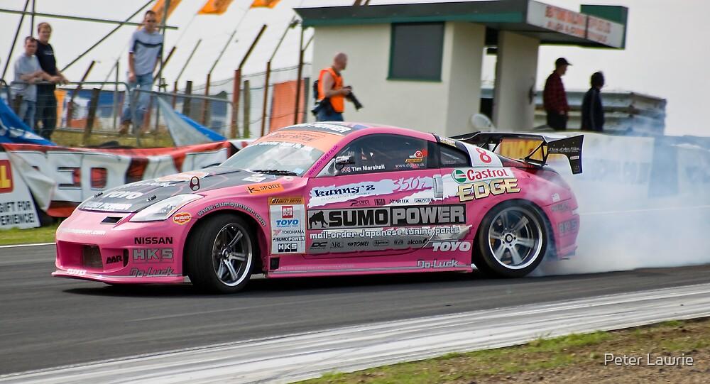 Pink Drift by Peter Lawrie