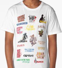 Sondheim Musicals  Long T-Shirt