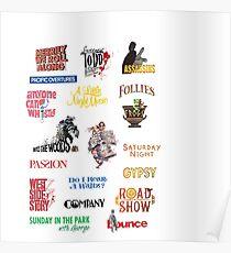 Sondheim Musicals  Poster