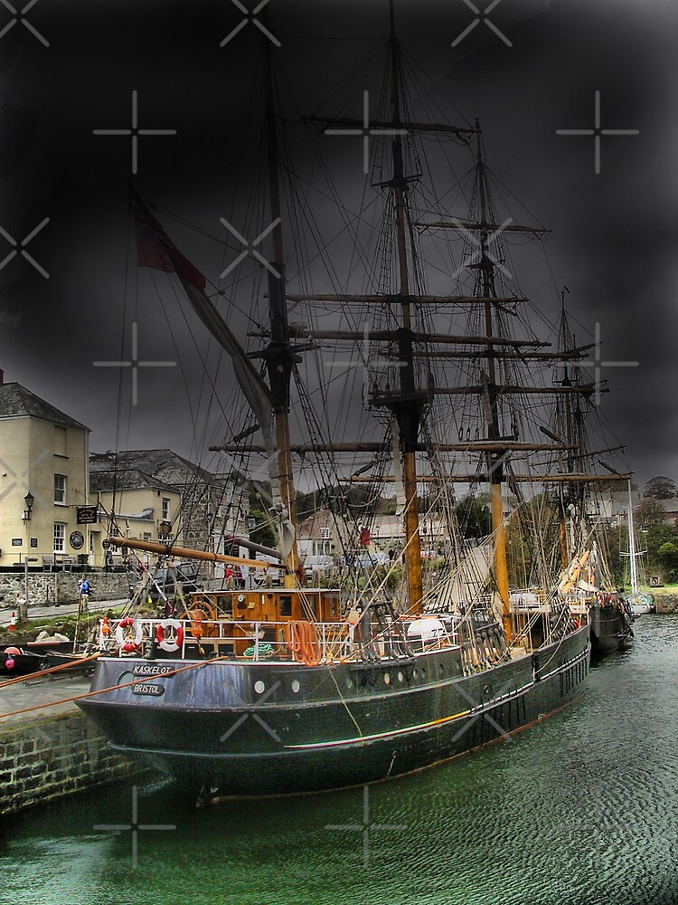 Tall Ship by Catherine Hamilton-Veal  ©