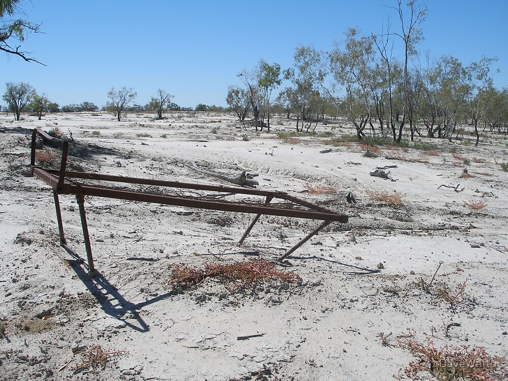 Bed Frame At Bourke by DaveWatto