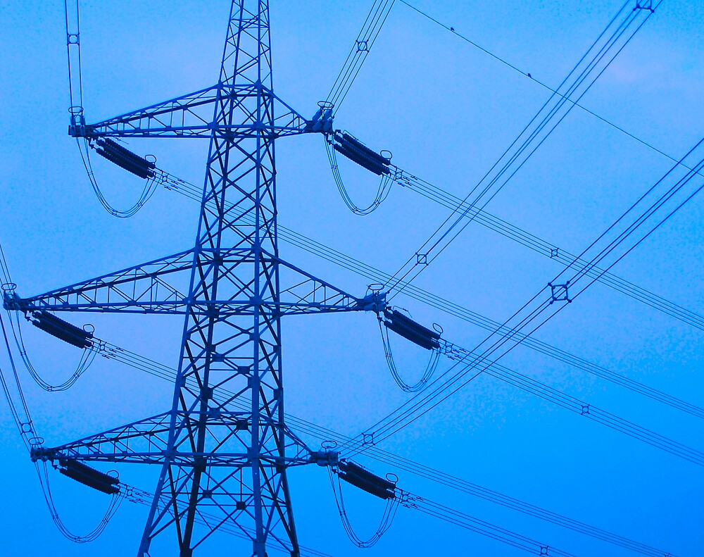 blue pylon  by cool3water