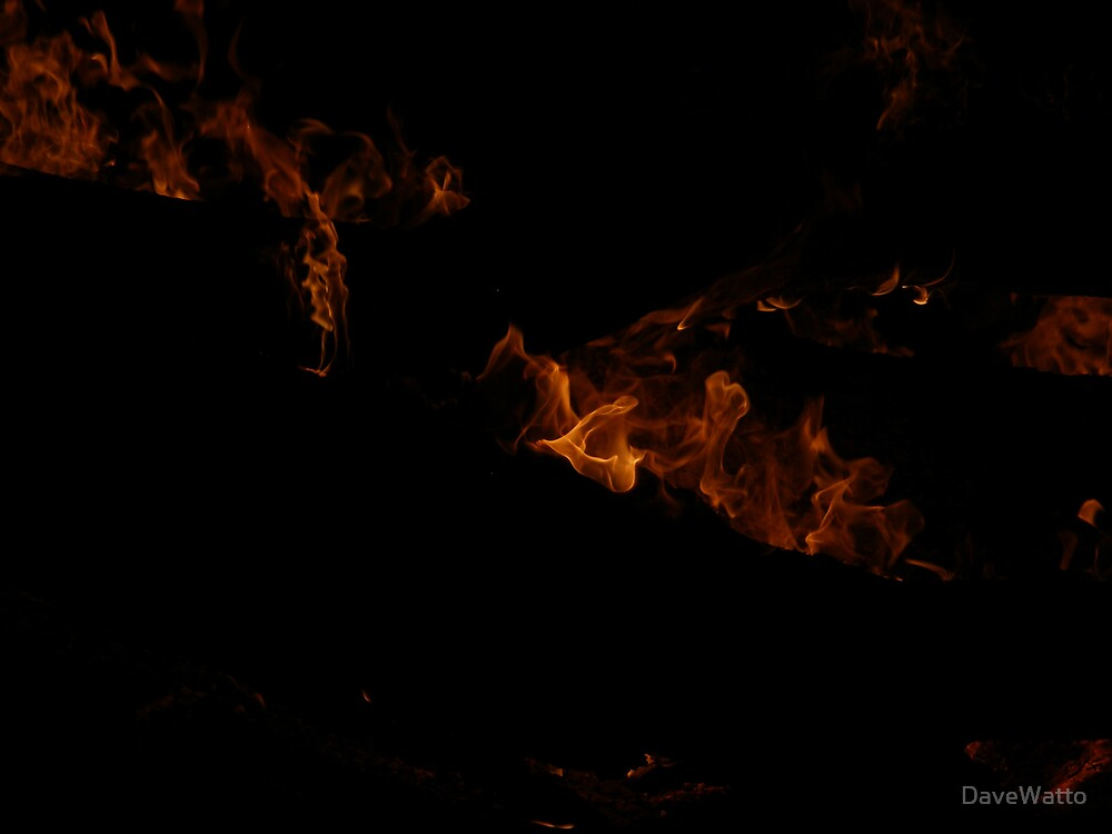 Flames Of Bourke by DaveWatto