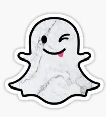 Marble Ghost Sticker