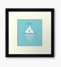 Icebleurgh Framed Print