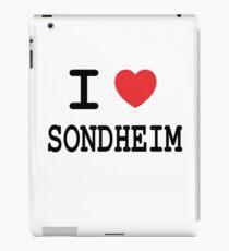 I <3 Sondheim iPad Case/Skin