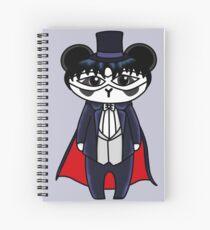 Tuxedo Panda Spiral Notebook
