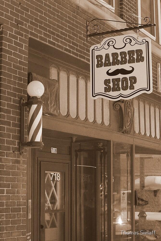Barber Shop by Thomas Sielaff