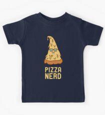 Pizza Nerd Kids Tee