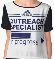 OUTREACH SPECIALIST Chiffon Top