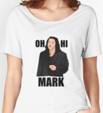 The Room - Oh Hi Mark Women's Relaxed Fit T-Shirt