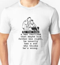 Cute Father's Day Quote Unisex T-Shirt